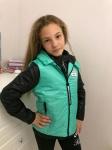 Детская куртка с жилеткой р. 134-164