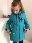 Детские демисезонные парковые куртки р. 134-164 1723-2