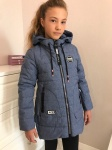 Детские демисезонные парковые куртки р. 134-164 1723-3