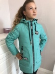 Детские демисезонные парковые куртки р. 134-164 1723-1