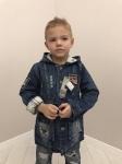 Детские джинсовые куртки р. 98-116 609-1