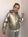 Детские кожаные куртки р. 134-164 341-6