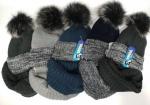 Комплект - шапка и хомут