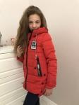 Детские демисезонные парковые куртки р. 134-158 1661-1