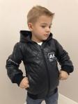 Детские кожаные куртки р. 98-128 341-3
