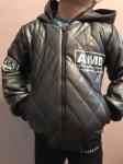 Детские кожаные куртки р. 134-164 341-8