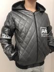 Детские кожаные куртки р. 98-128 341-4