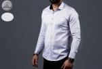 Мужские рубашки длинный рукав 01-01-573