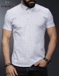 Мужские рубашки короткий рукав 01-04-688