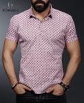 Мужские рубашки короткий рукав 01-04-693