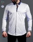 Мужские рубашки длинный рукав 01-16-727