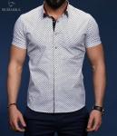 Мужские рубашки короткий рукав 01-20-651