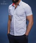 Мужские рубашки короткий рукав 01-20-652