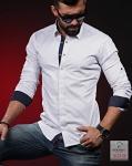 Мужские рубашки длинный рукав 02-23-511