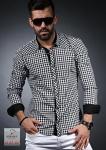 Мужские рубашки длинный рукав 01-37-157