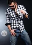 Мужские рубашки длинный рукав 01-38-152