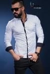 Мужские рубашки длинный рукав 01-40-564
