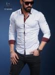 Мужские рубашки длинный рукав 01-40-569