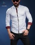Мужские рубашки длинный рукав 01-40-580