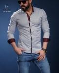Мужские рубашки длинный рукав 01-40-585