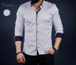 Мужские рубашки длинный рукав 01-41-726