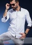 Мужские рубашки длинный рукав 01-59-529