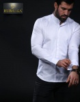 Мужские рубашки длинный рукав 01-61-401