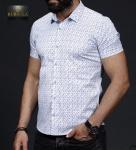 Мужские рубашки короткий рукав 01-64-654