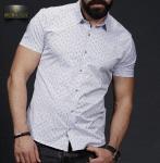 Мужские рубашки короткий рукав 01-64-659