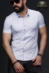 Мужские рубашки короткий рукав 01-64-664