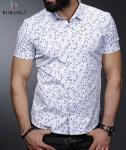 Мужские рубашки короткий рукав 01-64-669