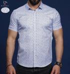 Мужские рубашки короткий рукав 01-65-676