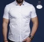 Мужские рубашки короткий рукав 01-65-681