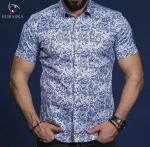 Мужские рубашки короткий рукав 01-65-691