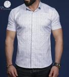 Мужские рубашки короткий рукав 01-66-679