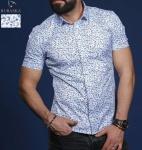 Мужские рубашки короткий рукав 01-66-684