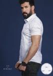 Мужские рубашки короткий рукав 01-66-699
