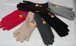Перчатки детские трикотаж/плюш 109