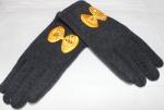 Перчатки детские трикотаж/иск.мех 115-3