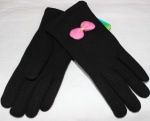 Перчатки детские трикотаж/иск.мех 115-2