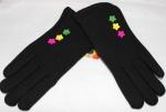 Перчатки детские трикотаж/иск.мех 115-4