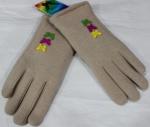 Перчатки детские трикотаж/иск.мех 115-1