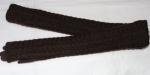 Женские перчатки трикотаж+вязка/плюш 78-1