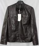 Мужская куртка кожзам 1801-1А-3