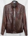 Мужская куртка кожзам 1801-2А-2