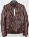 Мужская куртка кожзам 1818-1А-2