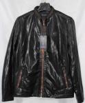 Мужская куртка кожзам 5802-1