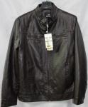 Мужская куртка кожзам 1811-1-1