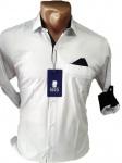 Мужские рубашки-длинный рукав 0552