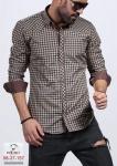 Мужские рубашки длинный рукав 08-37-157